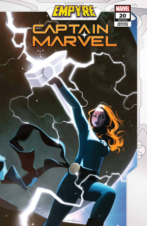 Captain Marvel #20 Dekal Empyre Var Emp - Comics