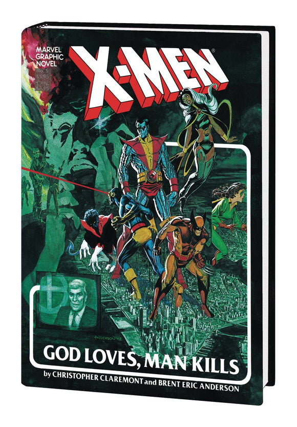 X-Men God Loves Man Kills Extended Cut Gallery Edition - Books