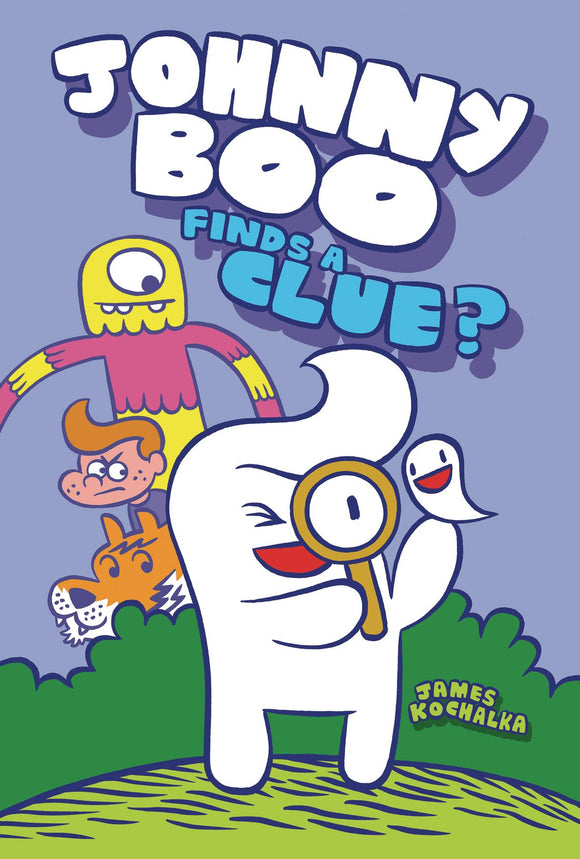 Johnny Boo HC Vol 11 Johnny Boo Finds A Clue - Books