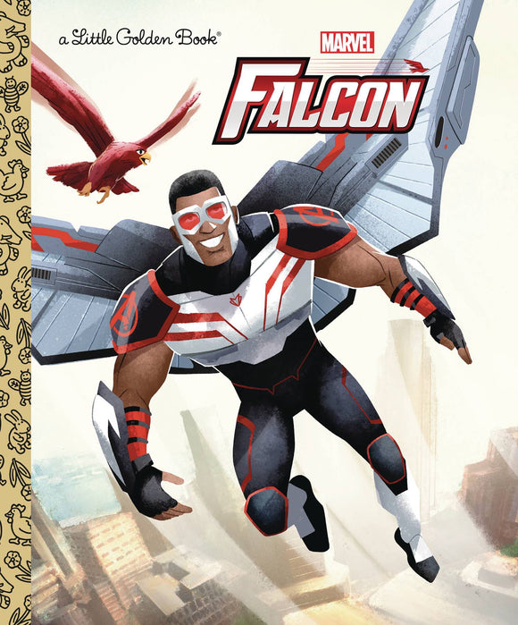Marvel Avengers Falcon Little Golden Book - Books