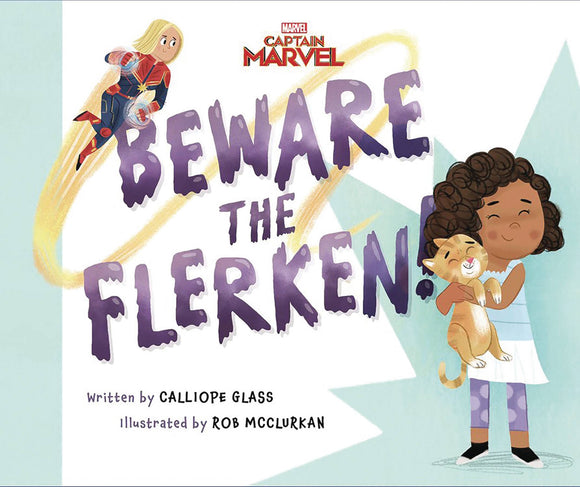 Capt Marvel Beware The Flerken Picture Book - Books