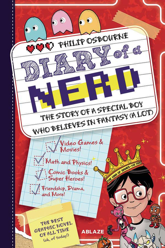 Diary of A Nerd HC Vol 01 - Books