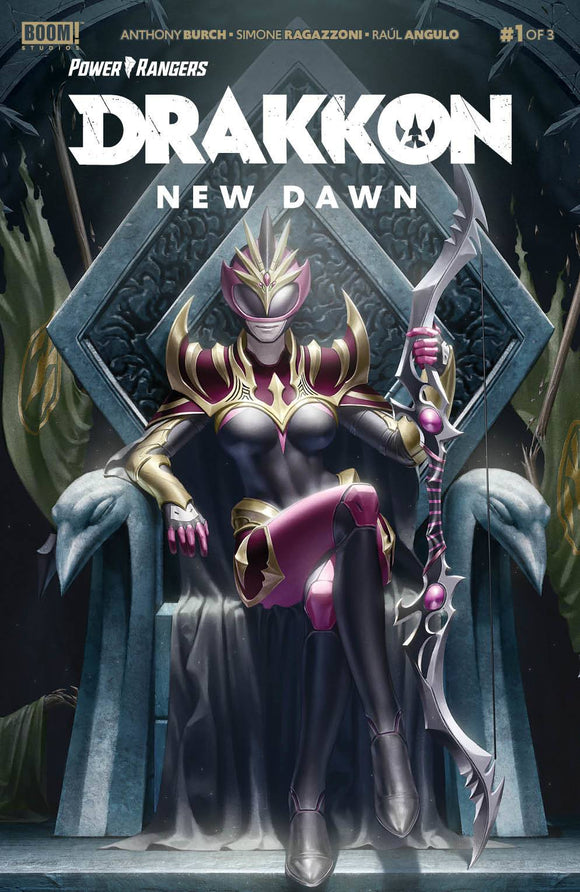 Power Rangers Drakkon New Dawn #1 Cvr A Main Secret - Comics