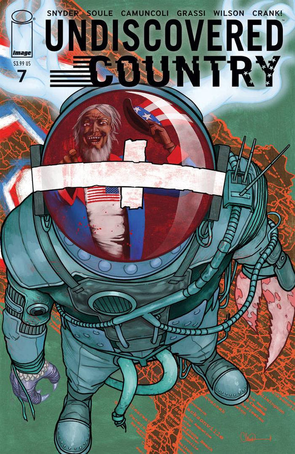 Undiscovered Country #7 Cvr B Adlard - Comics
