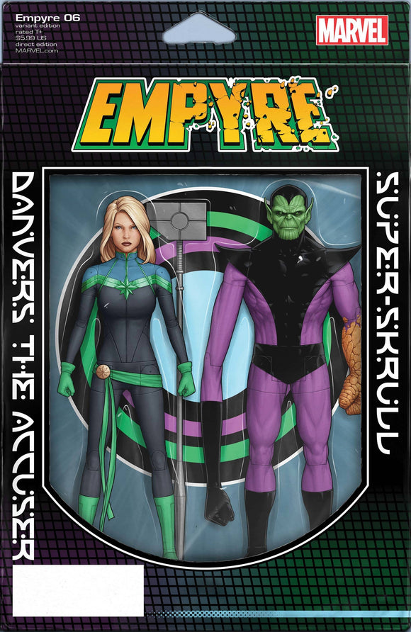 Empyre #6 (of 6) Christopher Action Figure Var - Comics