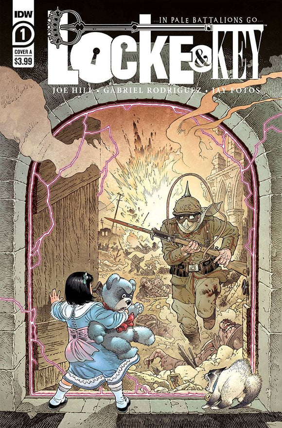 Locke & Key In Pale Battalions Go #1 (of 2) Cvr A Rodriguez - Comics