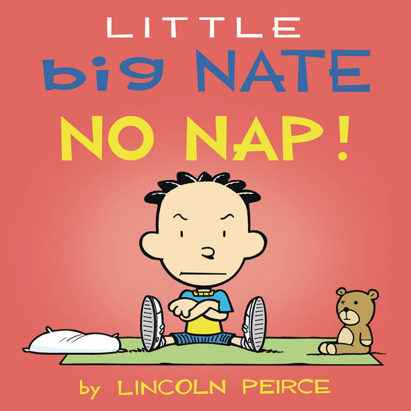 Little Big Nate No Nap Board Book - Books
