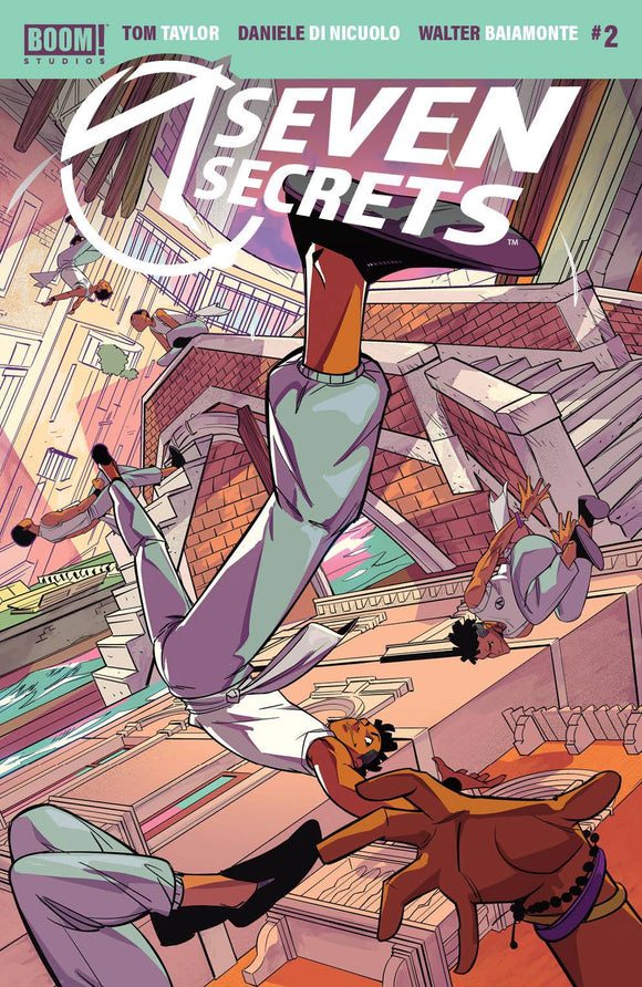 Seven Secrets #2 Main - Comics