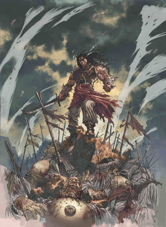 Cimmerian People of Black Circle #2 Cvr B Jae Kwang Park - Comics