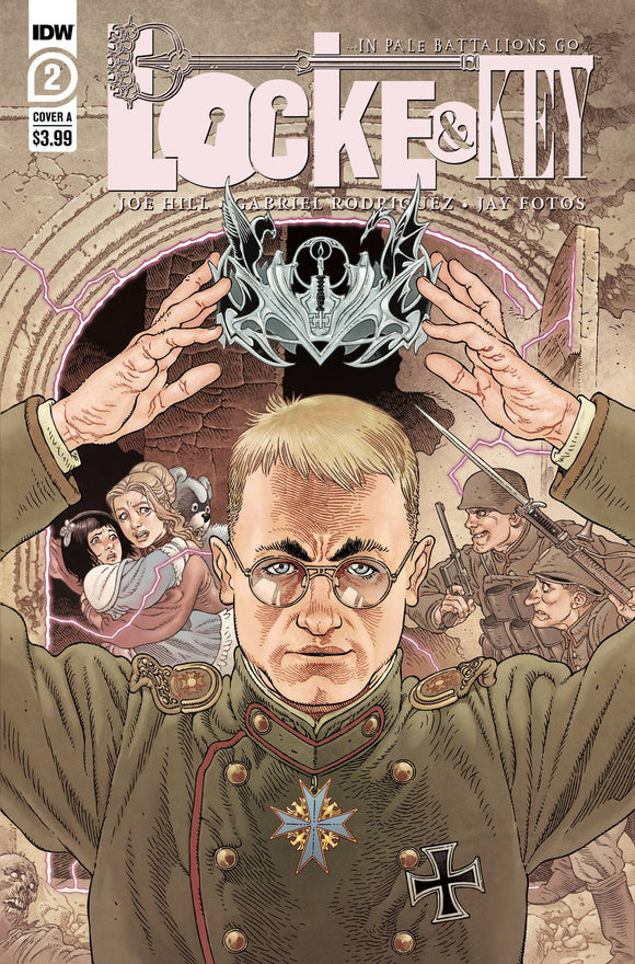Locke & Key In Pale Battalions Go #2 (of 2) - Comics