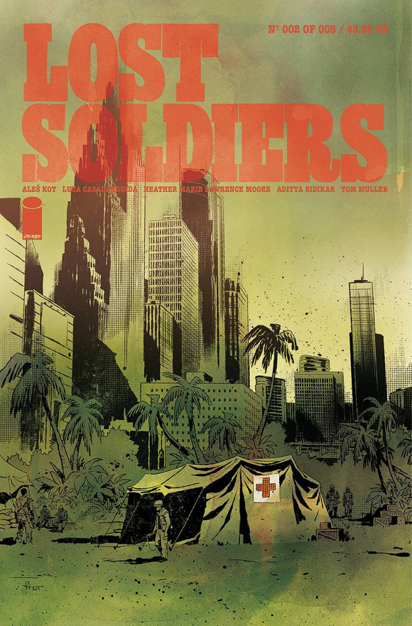 Lost Soldiers #2 (of 5) - Comics