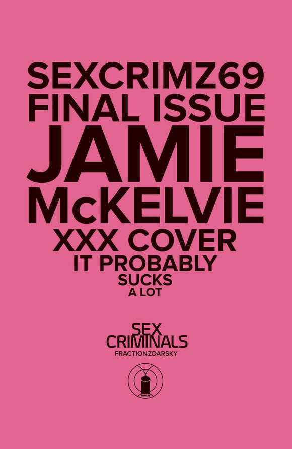 Sex Criminals #69 Xxx Mckelvie Var - Comics