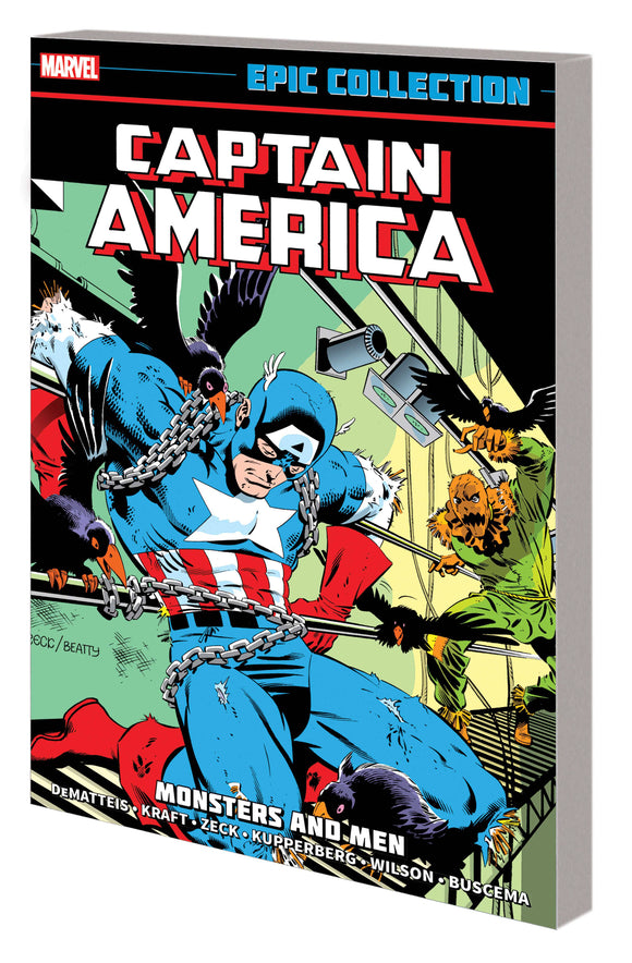 Captain America Epic Collection TP Monsters and Men - Books