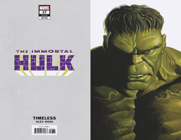 Immortal Hulk #37 Alex Ross Hulk Timeless Var - Comics