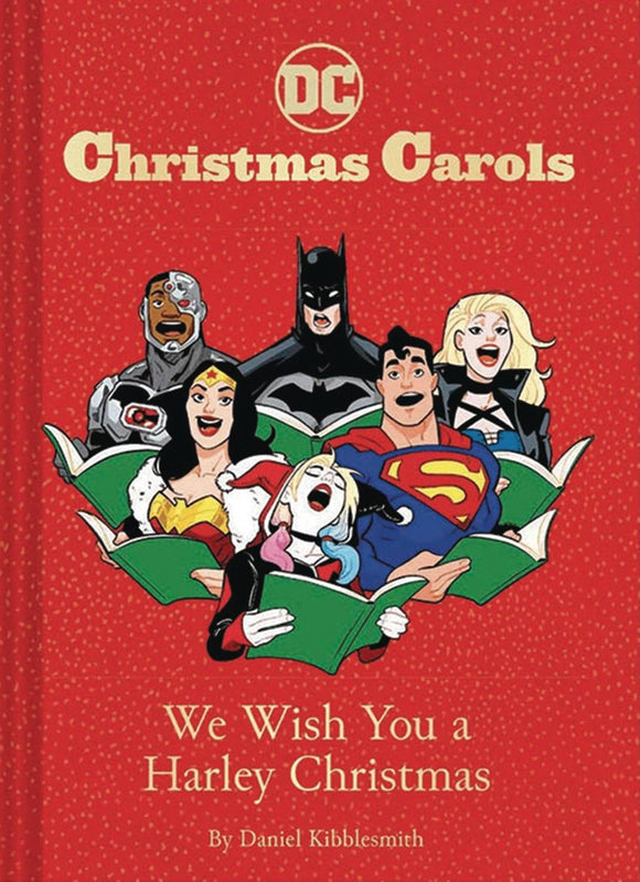 Dc Christmas Carols We Wish You A Harley Christmas HC - Books