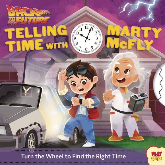Back to The Future Telling Time Marty Mcfly Board Book - Books