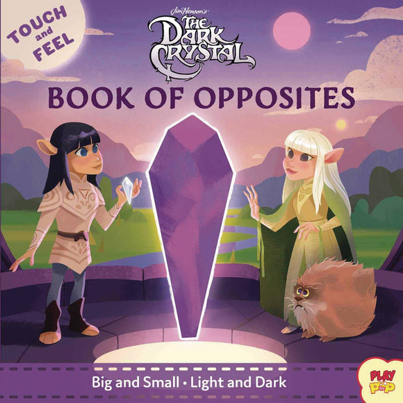 Dark Crystal Touch & Feel Book of Opposites Board Book - Books
