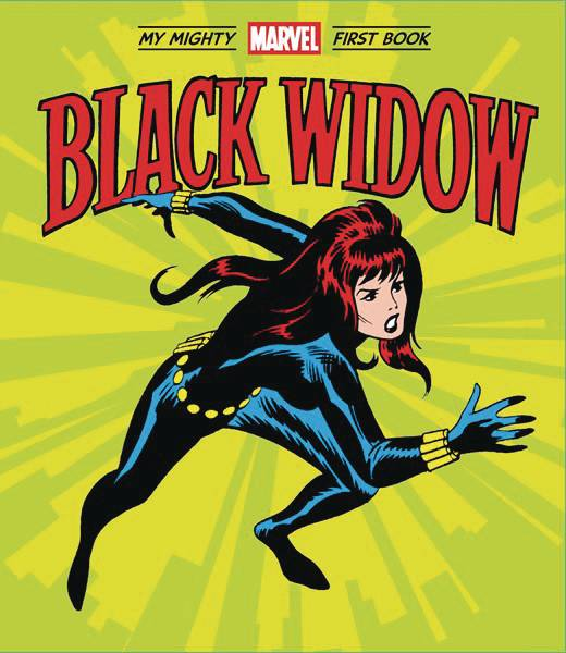 Black Widow My Mighty Marvel First Book Board Book - Books
