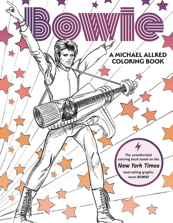 Bowie Allred Coloring Book - Books