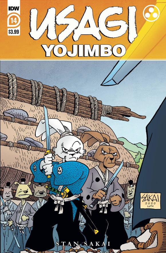 Usagi Yojimbo #14 - Comics