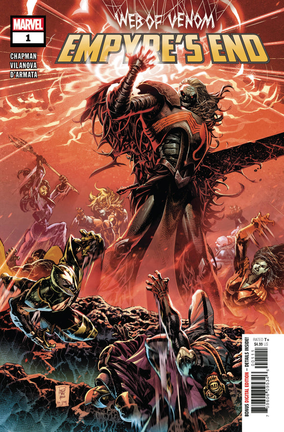 Web of Venom Empyres End #1 - Comics