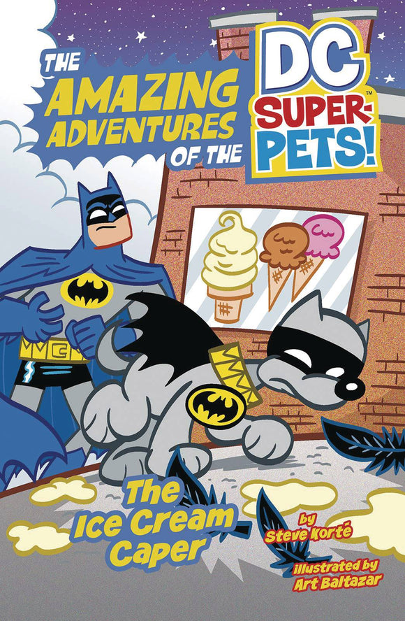 Dc Super Pets Yr TP Ice Cream Caper - Books
