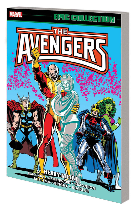 Avengers Epic Collection TP Heavy Metal - Books