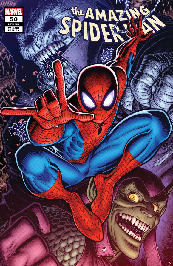 Amazing Spider-Man #50 Adams Var Last - Comics