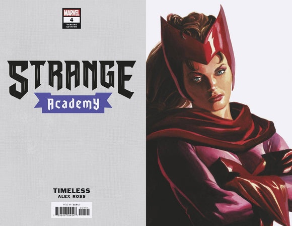 Strange Academy #4 Alex Ross Scarlet Witch Timeless Variant - Comics