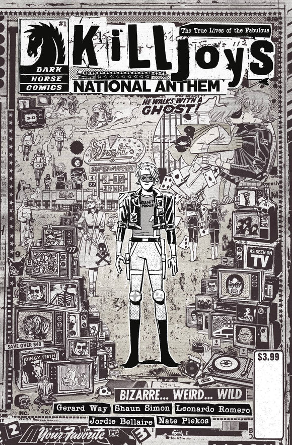 True Lives Fabulous Killjoys National Anthem #1 Cvr C Rentler - Comics