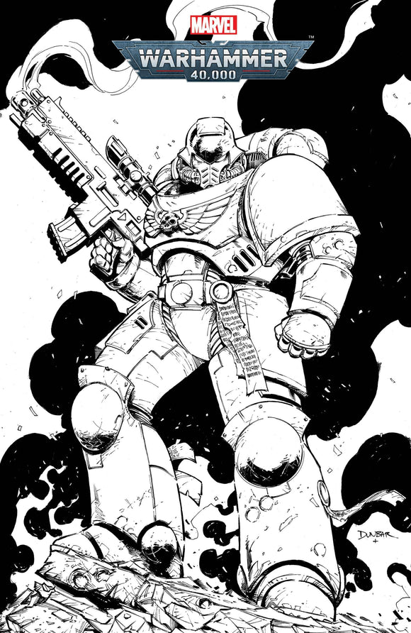 Warhammer 40K Marneus Calgar #1 (of 5) Color Your Own Var - Comics