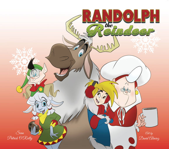 Randolph The Reindeer HC - Books