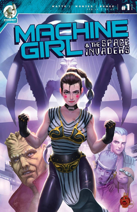 Machine Girl & Space Invaders #1 - Comics