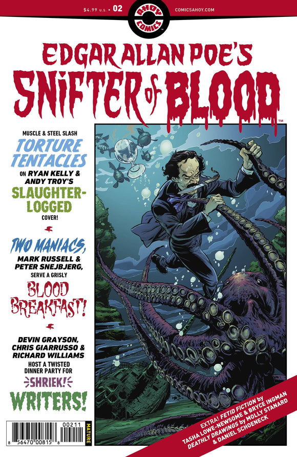 Edgar Allan Poe`s Snifter of Blood #2 - Comics