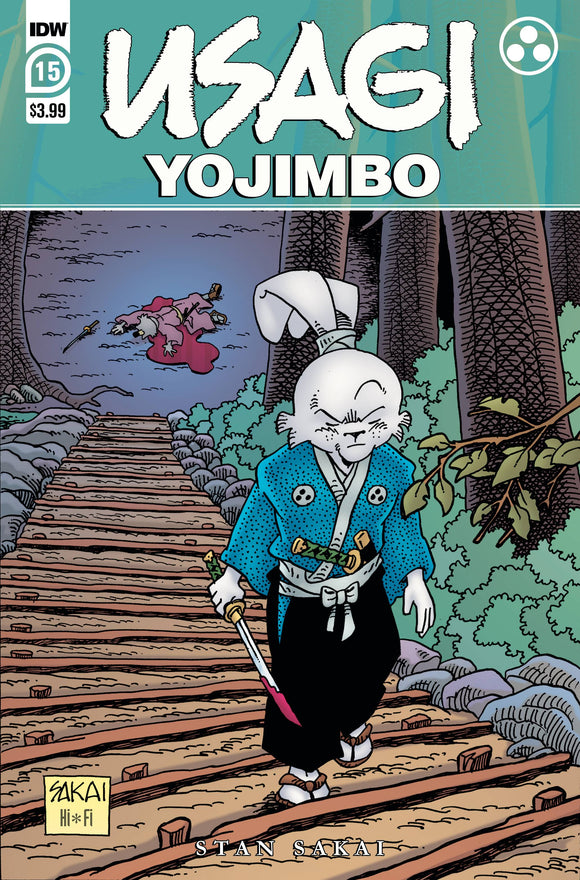 Usagi Yojimbo #15 - Comics