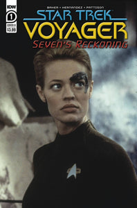 Star Trek Voyager Sevens Reckoning #1 Jeri Ryan Photo Variant - Comics