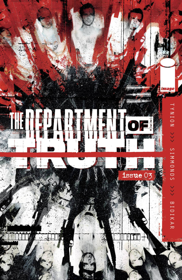 Department of Truth #3 Cvr A Simmonds - Comics