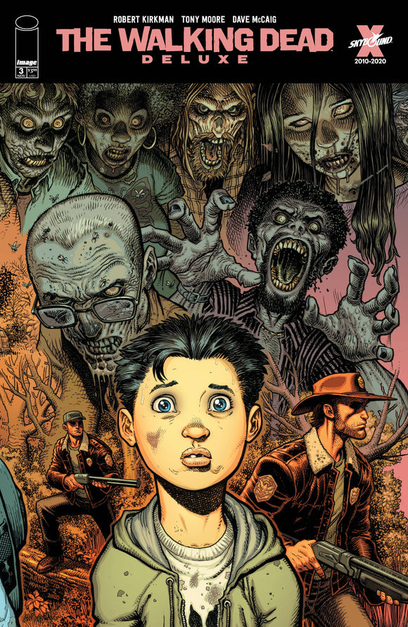 Walking Dead Dlx #3 Cvr D Adams & Mccaig - Comics