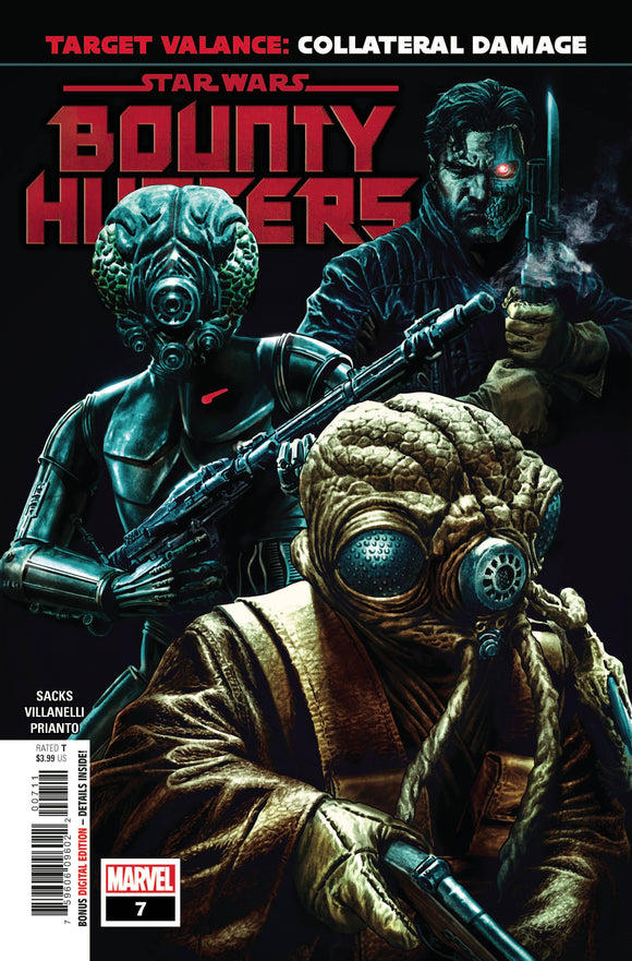 Star Wars Bounty Hunters #7 - Comics