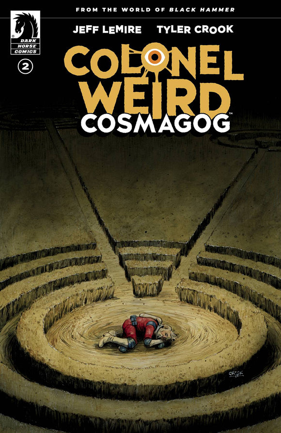 Colonel Weird Cosmagog #2 Cvr A Crook - Comics
