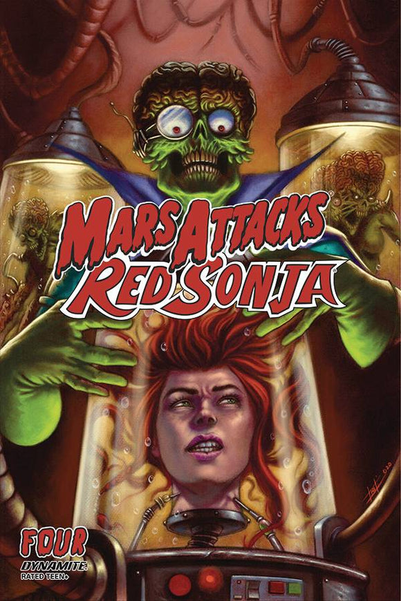 Mars Attacks Red Sonja #4 Cvr B Strati Variant - Comics