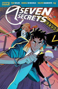 Seven Secrets #4 Main - Comics