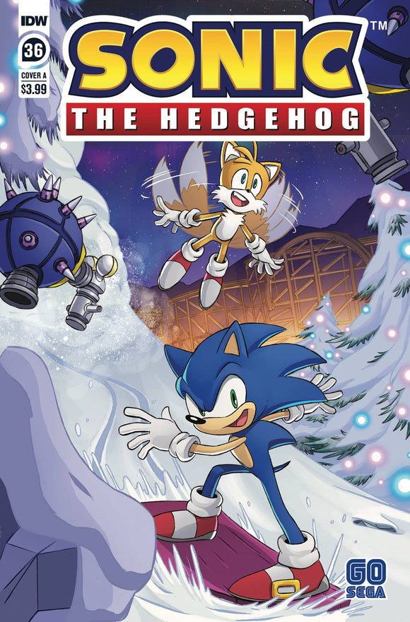 Sonic The Hedgehog #36 Cvr A Schoening - Comics