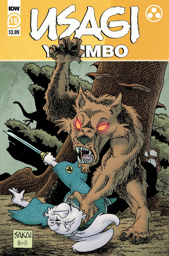 Usagi Yojimbo #16 - Comics