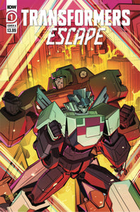 Transformers Escape #1 (of 5) Cvr A Mcguire-Smith - Comics