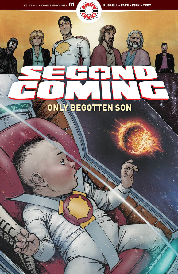 Second Coming Only Begotten Son #1 Cvr A Pace - Comics