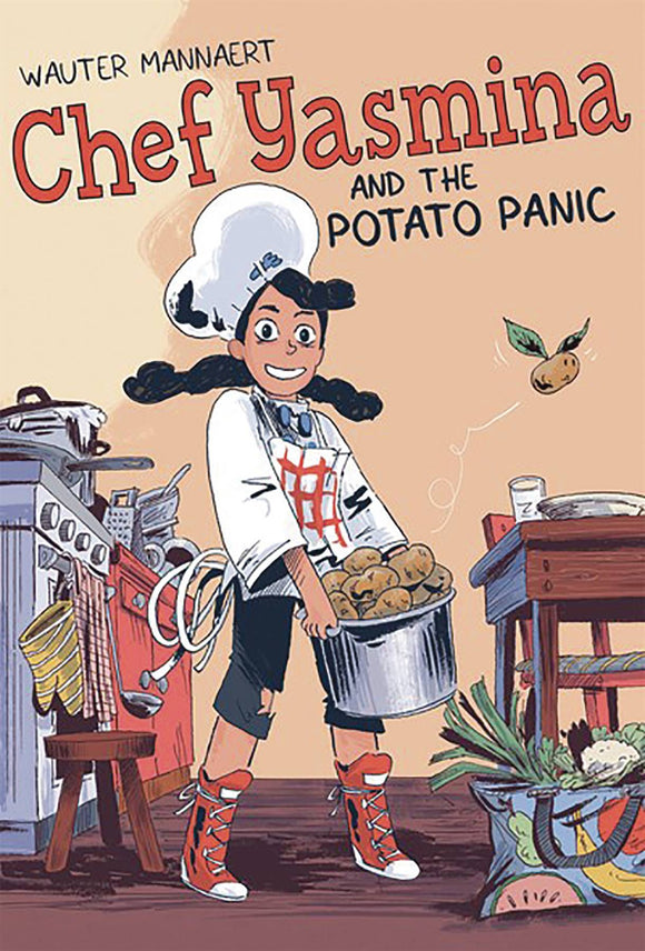 Chef Yasmina & Potato Panic GN - Books
