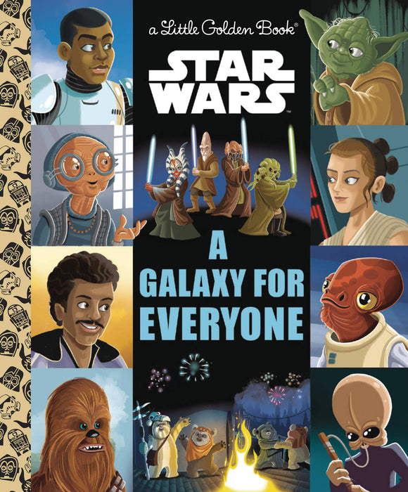 Star Wars Galaxy of Hope Little Golden Book - Books