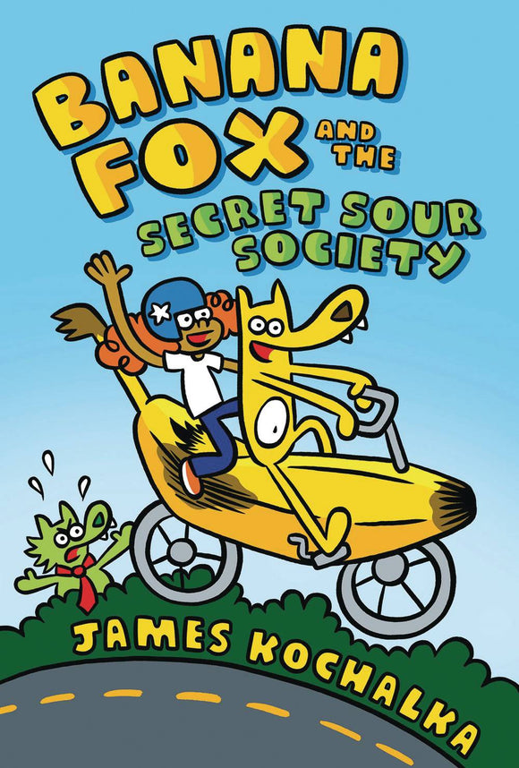 Banana Fox GN Vol 01 Secret Sour Society - Books