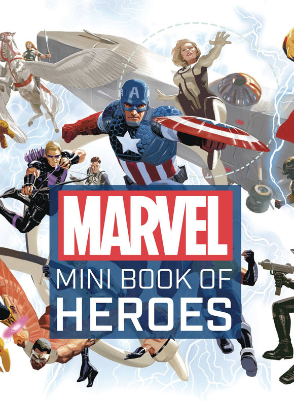 Marvel Comics Mini Book of Heroes HC - Books